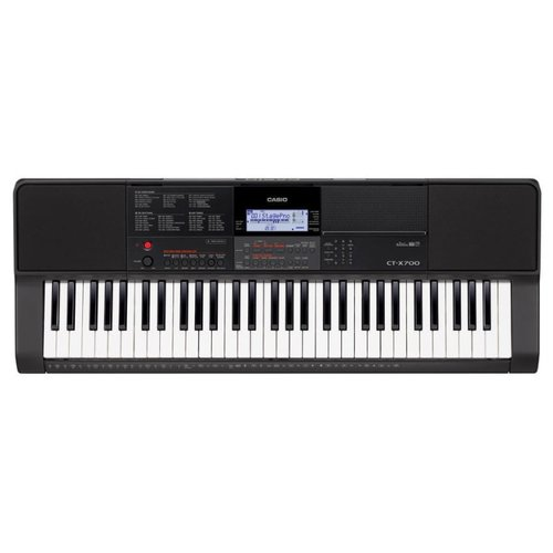 Синтезатор CASIO CT-X700 черный