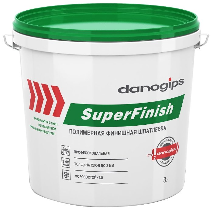 Шпатлевка Sheetrock SuperFinish