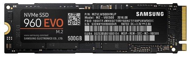 Samsung MZ-V6E500BW