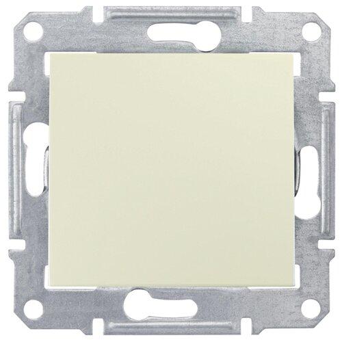 Перекрестный переключательвыключатель / переключатель Schneider Electric SEDNA SDN0500147,10А, бежевыйРозетки, выключатели и рамки<br>