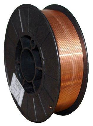 Проволока из металлического сплава Кедр СВ-08Г2С-О 0.8мм 5кг