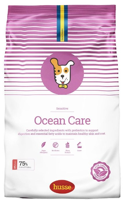 Корм для собак Husse Ocean Care Sensitive
