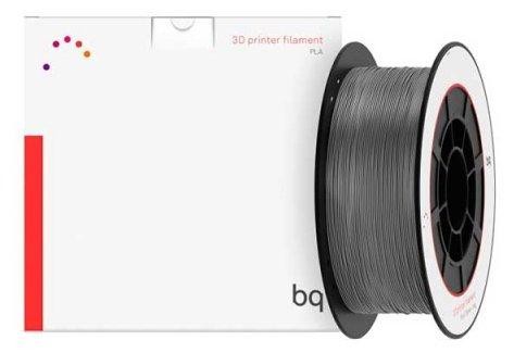 PLA пруток BQ 1.75 мм серый (ash grey)