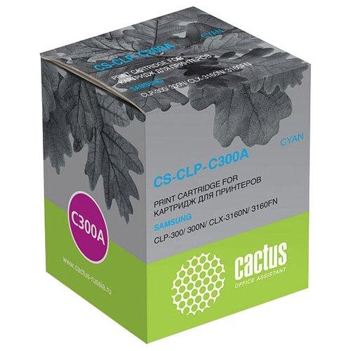 Фото - Картридж cactus CS-CLP-C300A, совместимый картридж cactus cs tn1075