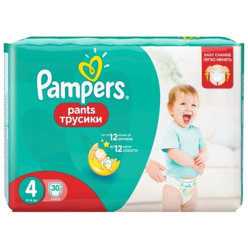 Pampers трусики Pants 4 (9-14 кг) 30 шт.