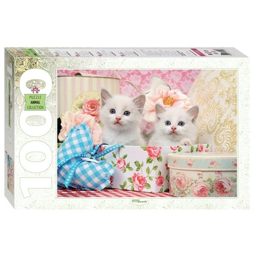 Купить Пазл Step puzzle Animal Collection Котята (79100), 1000 дет., Пазлы