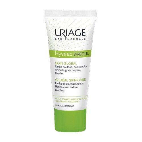 Uriage Универсальный уход Hyseac 3-regul, 40 мл тональный крем для лица uriage hyseac 3 regul spf30 40 мл универсальный