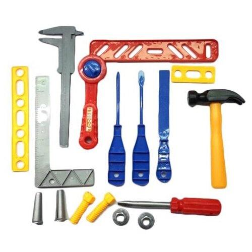 Shantou Gepai Набор инструментов, 17 предметов (M718-7) набор инструментов shantou gepai наша игрушка 6607