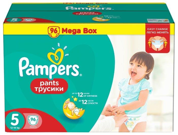 Pampers трусики Pants 5 (12-18 кг) 96 шт.