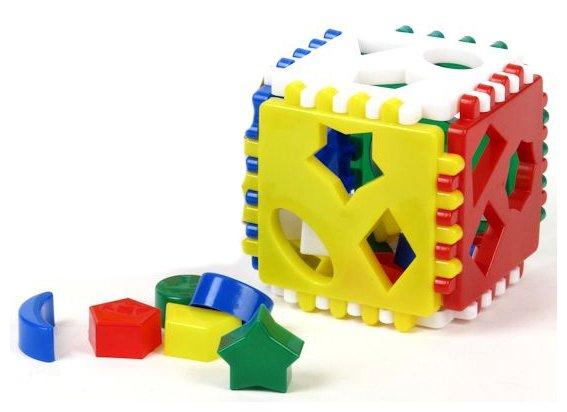 Сортер Nina Логический куб