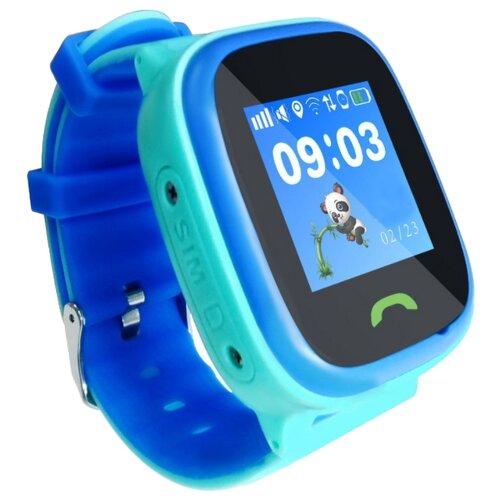 Детские умные часы Smart Baby Watch HW8, голубой умные часы smart baby watch t58 золотистый