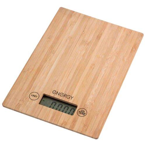 Кухонные весы Energy EN-426 бамбук кухонные весы energy en 426 бамбук