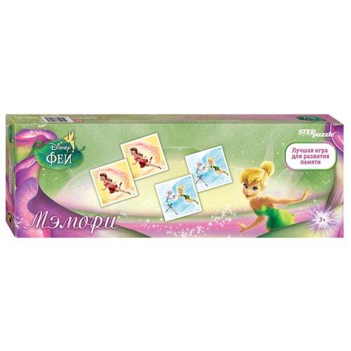 Настольная игра Step puzzle Мэмори Феи (Disney) игра настольная принцесса феи крёстные