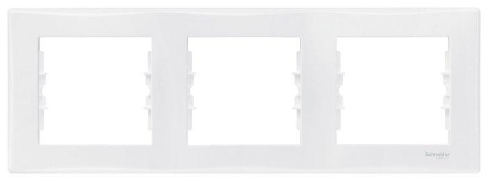 Рамка 3п Schneider Electric SEDNA SDN5800521 , белый