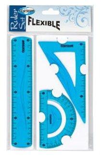 CENTRUM Набор линеек пластиковых Flexible 3 шт. (86917)