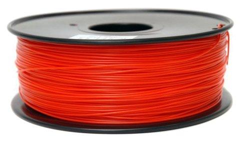 PLA пруток FL-33 1.75 мм красный прозрачный