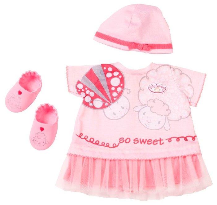 Zapf Creation Комплект одежды для куклы Baby Annabell 700198