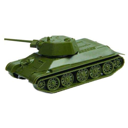 Сборная модель ZVEZDA Советский средний танк Т-34/76 (обр. 1943) (6159) 1:100 сборная модель zvezda советский средний танк т 34 76 обр 1942 г 3535pn 1 35