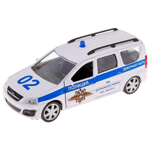 Легковой автомобиль Autogrand Lada Largus полиция (49481) 1:38 белый/синий