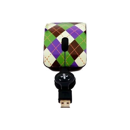 Мышь Bodino RINGO Black-Green USB