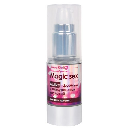 Гель-смазка Биоритм LoveGel M Magic Sex 20 г флаконИнтимные смазки<br>