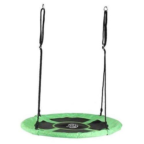 Lite Weights Качели Гнездо 100 см черный/зеленый