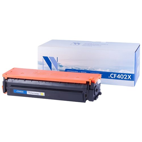 Фото - Картридж NV Print CF402X для HP, совместимый картридж nv print q7551x для hp совместимый