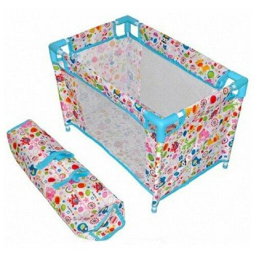 Купить Mary Poppins Кроватка разборная Фантазия (67318) Фантазия, Мебель для кукол