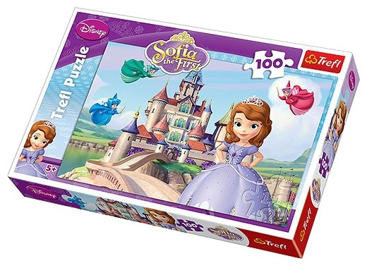 Пазл Trefl Sofia the First - Ее высочество София (16226), 100 дет.