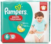 Pampers трусики Pants 6 (16+ кг) 25 шт.