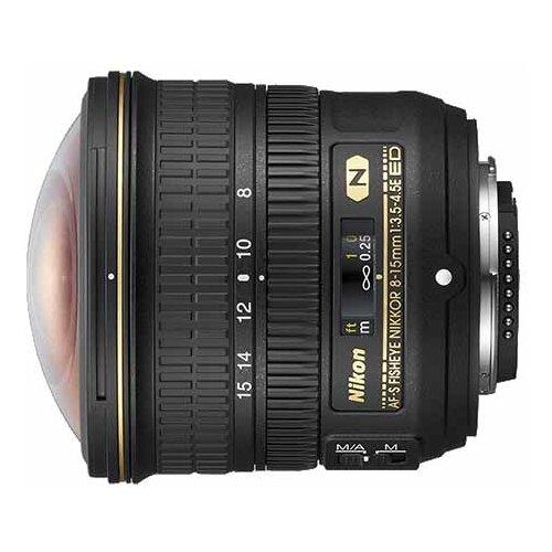 Фото - Объектив Nikon 8-15mm f/3.5-4.5E ED AF-S Fisheye Nikkor объектив sony 16mm f 2 8 fisheye sal 16f28
