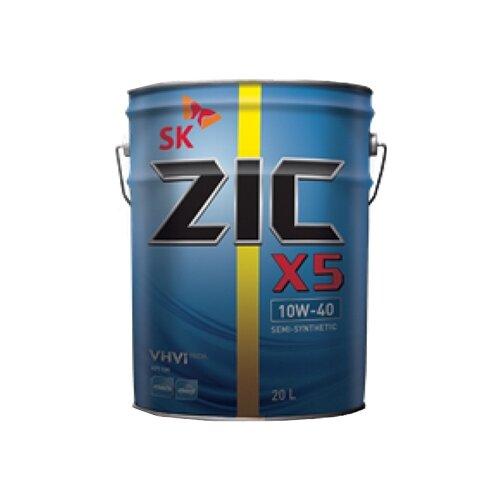 Моторное масло ZIC X5 10W-40 20 л