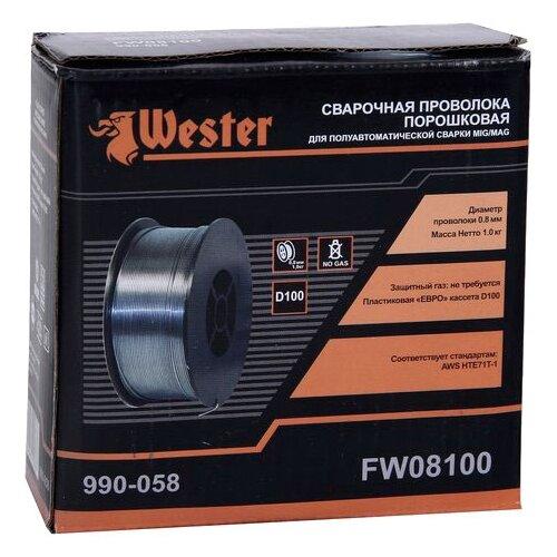 Проволока из металлического сплава Wester FW08100 0.8мм 1кг проволока из металлического сплава барс er 70s 6 0 8мм 1кг