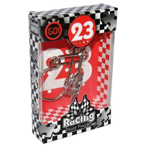 Купить Головоломка Eureka 3D Puzzle Racing Wire Puzzles 23 сложность 2 (473293) серый, Головоломки