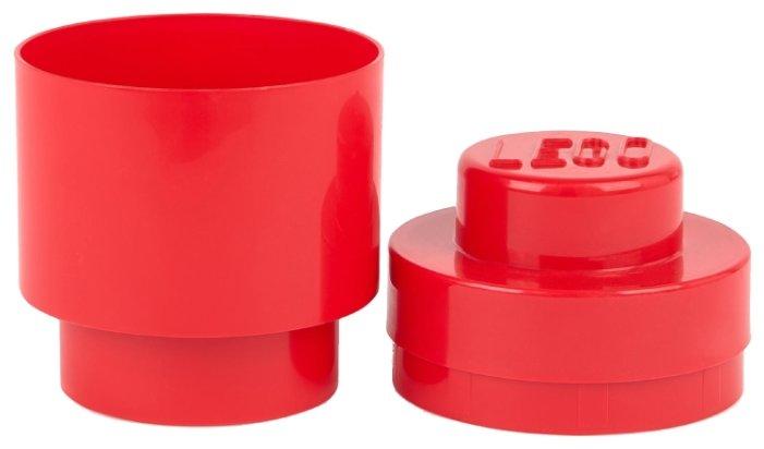 Контейнер LEGO 1 Knob Round 13х13х18 см (4030)