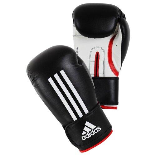 Боксерские перчатки adidas Energy 100 черный/белый 10 oz боксерские перчатки venum challenger 2 0 черный белый вес 10 унций