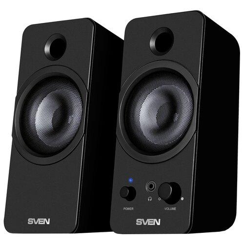 Компьютерная акустика SVEN 430 черный компьютерная акустика sven 120 черный