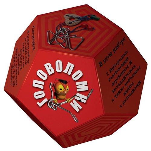 Купить Набор головоломок Новый формат Додекаэдр Красный (80318) 2 шт., Головоломки