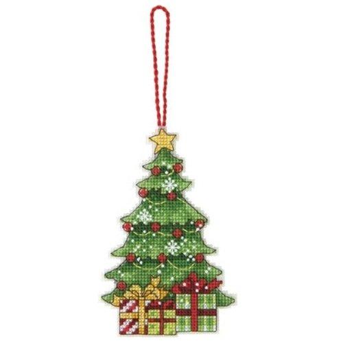 Купить Dimensions Набор для вышивания Tree Ornament (Украшение Елка) 7, 6 х 12 см (70-08898), Наборы для вышивания