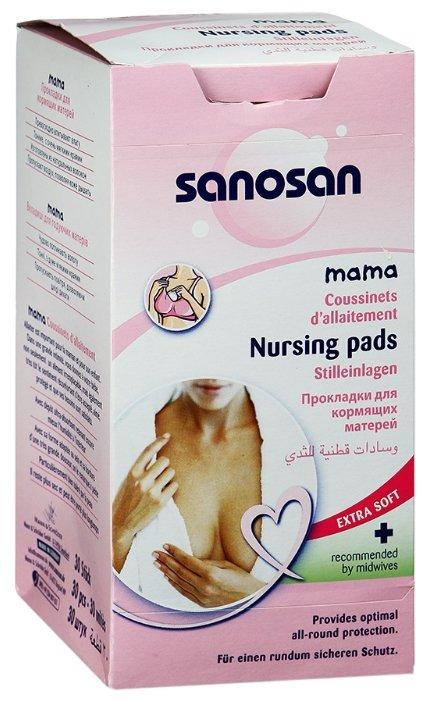 Sanosan Прокладки для кормящих матерей Mama