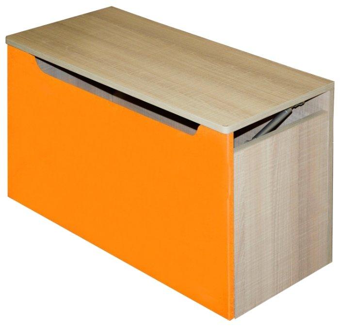 Ящик для игрушек «Жили-были», синий