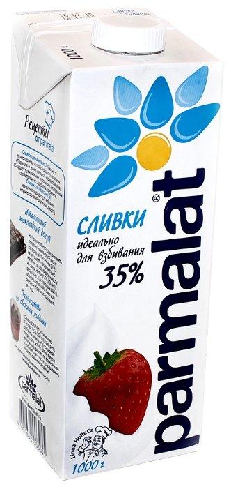 Сливки Parmalat ультрапастеризованные 35%, 1000 г
