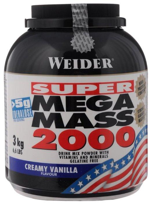 Гейнер Weider Mega Mass 2000 (3 кг)