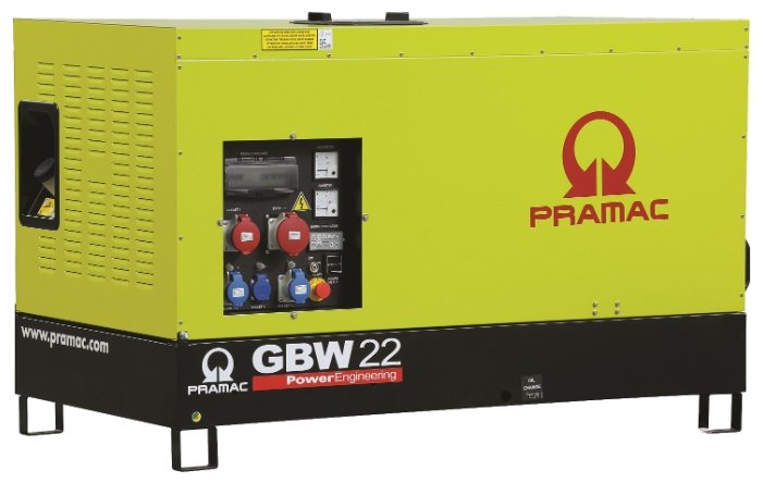 Дизельная электростанция Pramac GBW 22 P 230V в кожухе