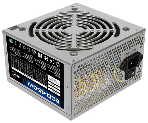 Блок питания AeroCool Eco 450W
