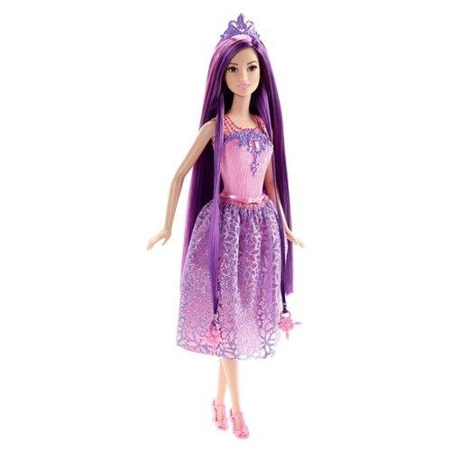 Купить Кукла Barbie Принцесса с бесконечно длинными волосами, 29 см, DKB59, Куклы и пупсы