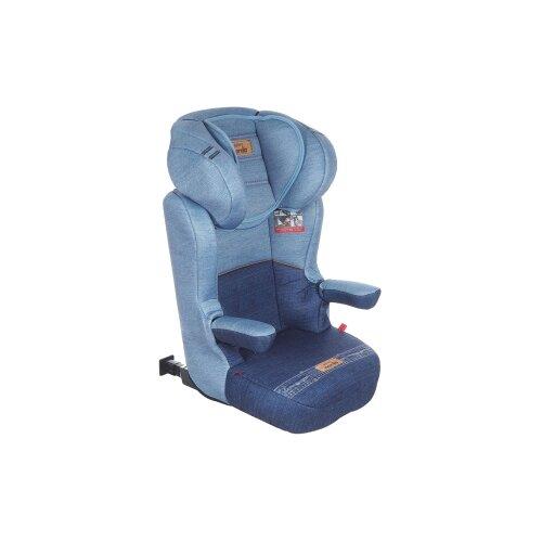 Автокресло группа 2/3 (15-36 кг) Nania Sena Easyfix, denim blue автокресло nania sena easyfix 15 36кг bonjour blue синий 949163