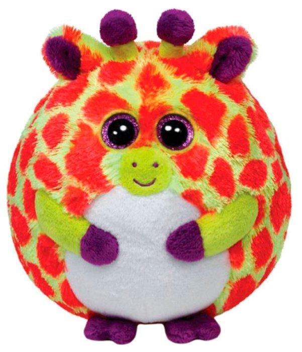Мягкая игрушка TY Beanie ballz Жираф Toby 13 см