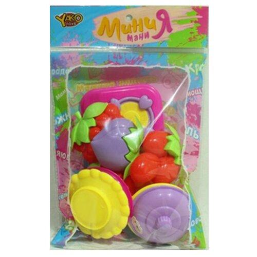 Купить Набор Yako Мини мания М6342 красный/зеленый/желтый/фиолетовый/розовый, Детские кухни и бытовая техника