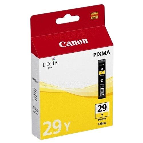 Фото - Картридж Canon PGI-29Y (4875B001) картридж canon pgi 29y для pro 1 желтый 290 страниц